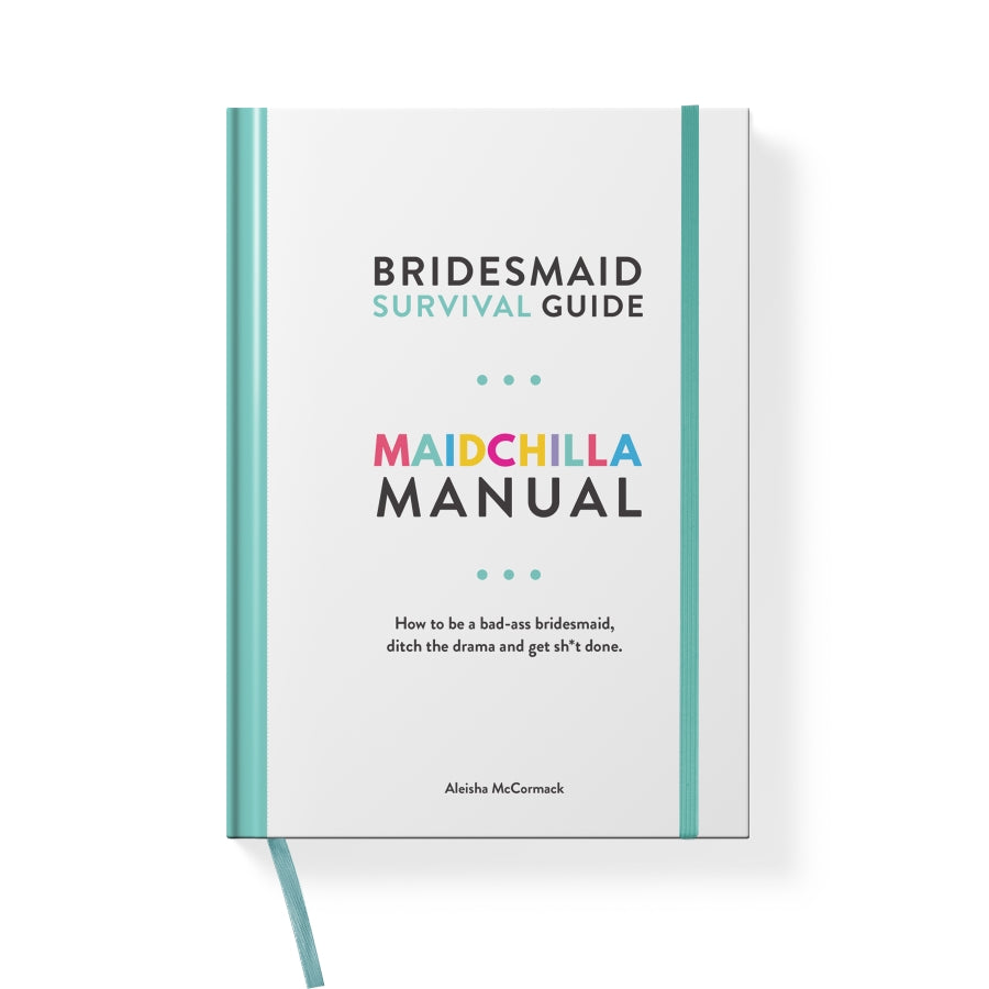 Maidchilla Manual- Bridesmaid Guide, Planner & Orgnaizer