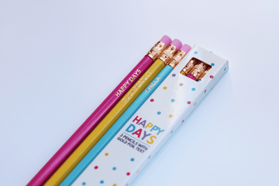 Happy Days Pencil Set