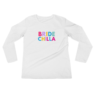 Women's Bridechilla Long sleeve t-shirt