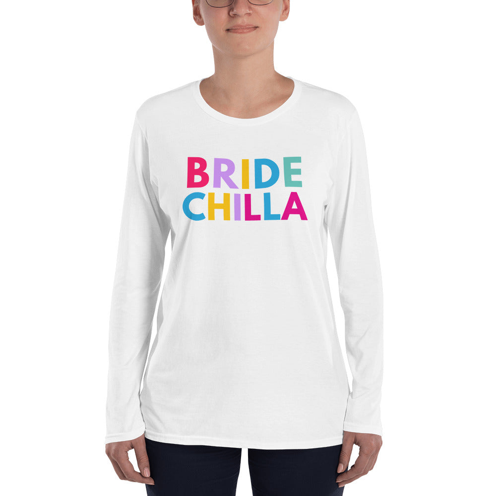 Bridechilla Long sleeve T-shirt - Bridechilla - Wedding Planning
