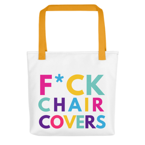 F*ck Chair Covers Tote bag