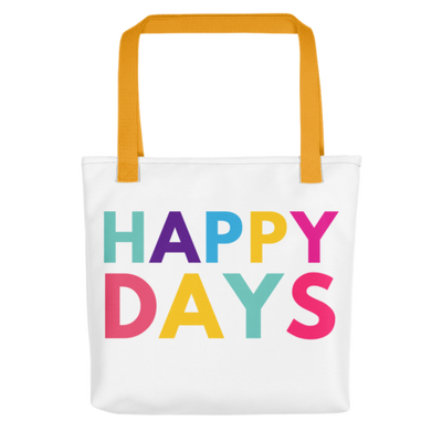 Happy Days Tote bag