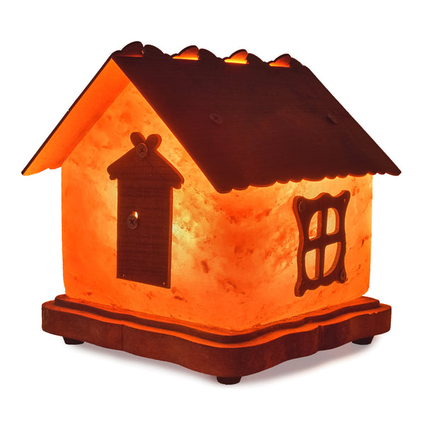 Glow Himalayan Little Cottage Crafted Salt Lamp