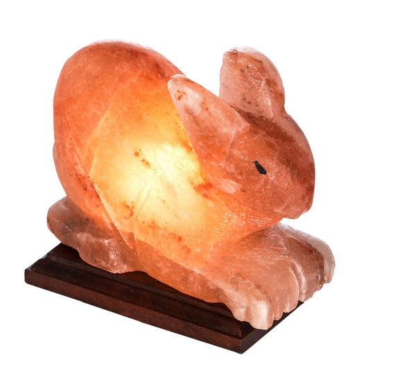 Glow Himalayan Rabbit Shape Salt Lamp