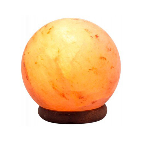 Glow Himalayan Sphere Crafted Salt Lamp