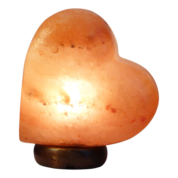 Glow Himalayan Heart Side Salt Lamp