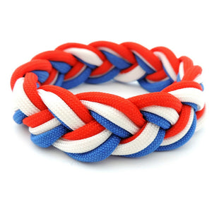 French Flag Colours Wristband