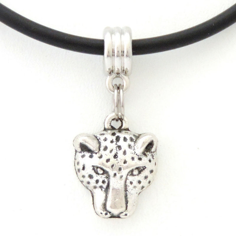 Puma Head Necklace