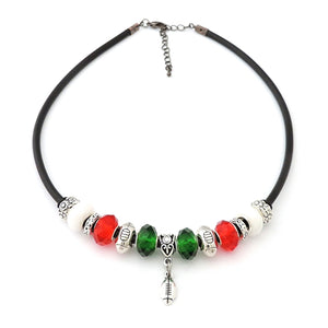 Welsh Rugby Colours Necklace