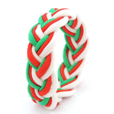 Welsh Flag Colours Wristband