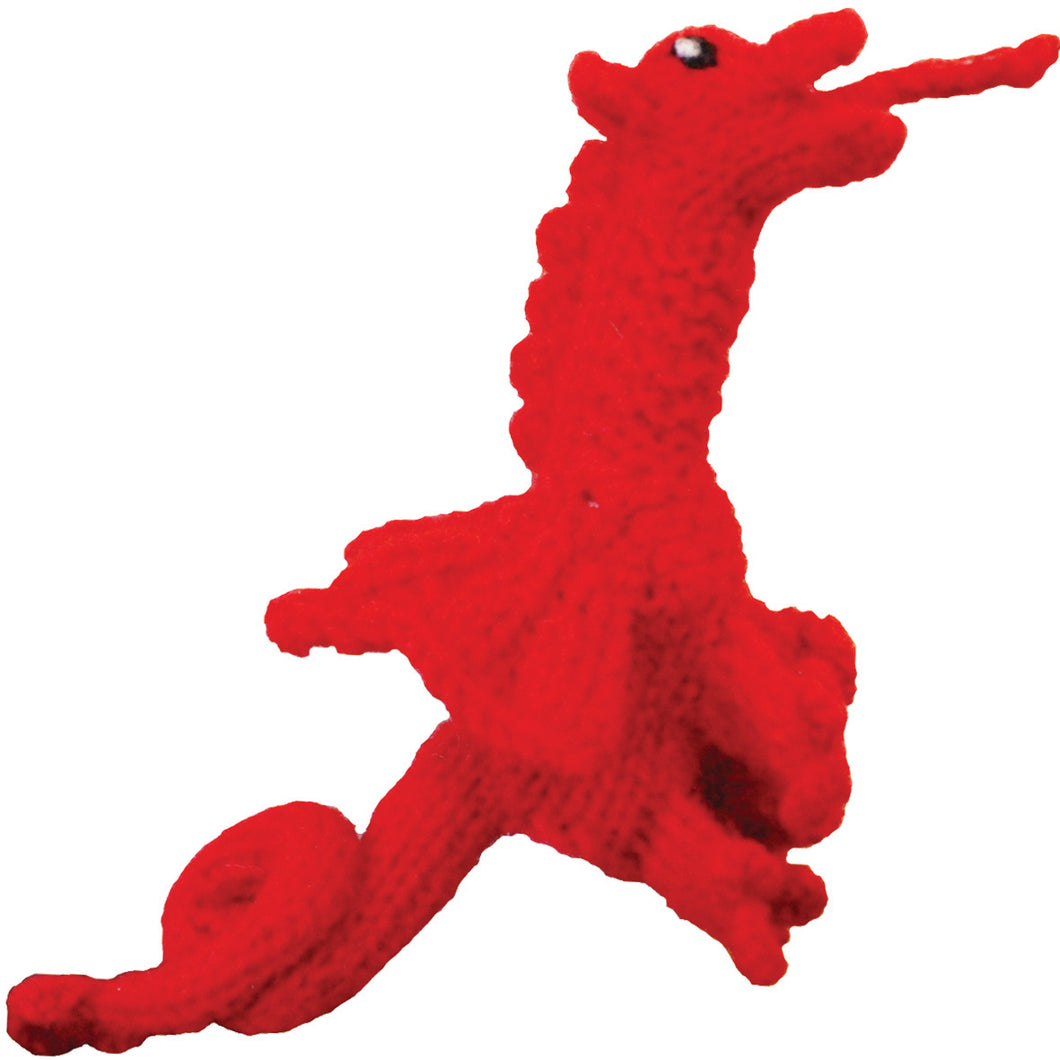 Welsh Dragon Finger Puppet At All Rugby World