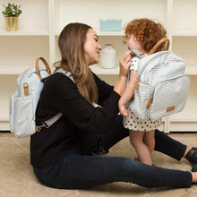 Mommy and Mini-Me Diaper Bag Backpack By CHIC-A-BOO