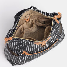 Load image into Gallery viewer, Ready-Set Tote Diaper Bag Backpack Inside view By CHIC-A-BOO