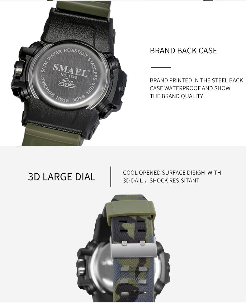 brand analog top fashion display digital casual stopwatch watch man waterproof s products luxury weide watches alarm