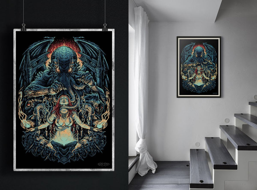 COSMIC CULT ART PRINT