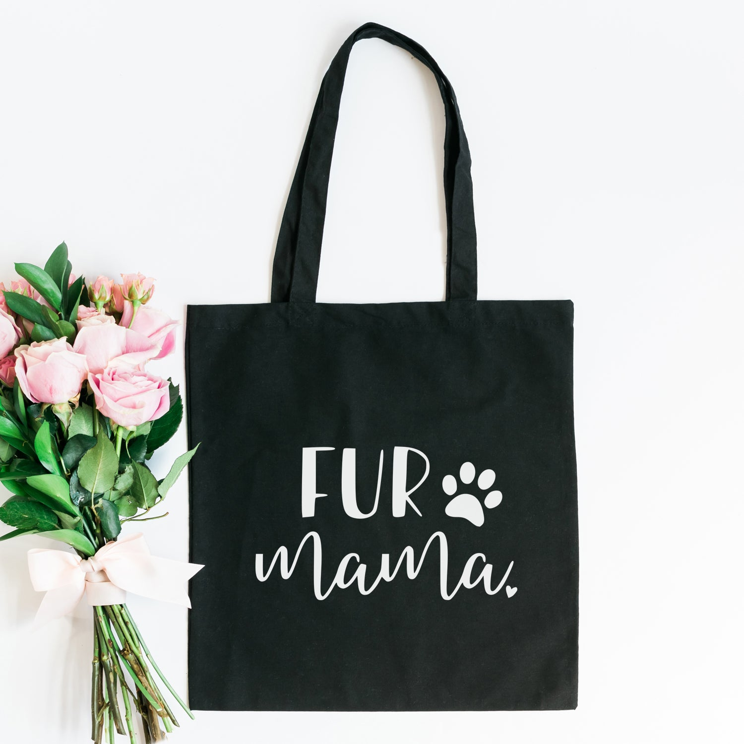 Fur Mama Tote - Canvas Bag - Dog Lover - Gift - Cat Tote Bag – Best ... 0f50459dd48e7