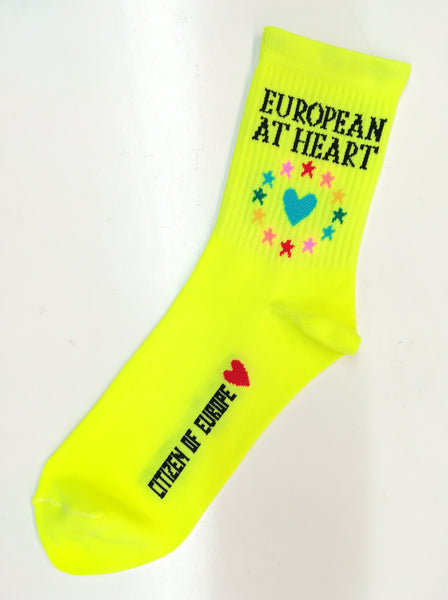 *EXTRA 30% OFF AT CHECKOUT* European At Heart Neon Yellow