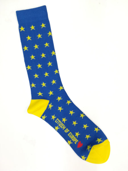 EU Stars Ankle Sock - Unisex sizes 37 - 46