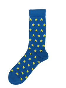 EU Stars Ankle Sock - PRE-ORDER AVAILABLE FOR DELIVERY FROM 21ST MAY - Unisex sizes 37 - 46