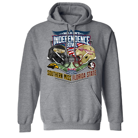 2017 Independence Bowl Team-vs-Team Men's Hooded Sweat
