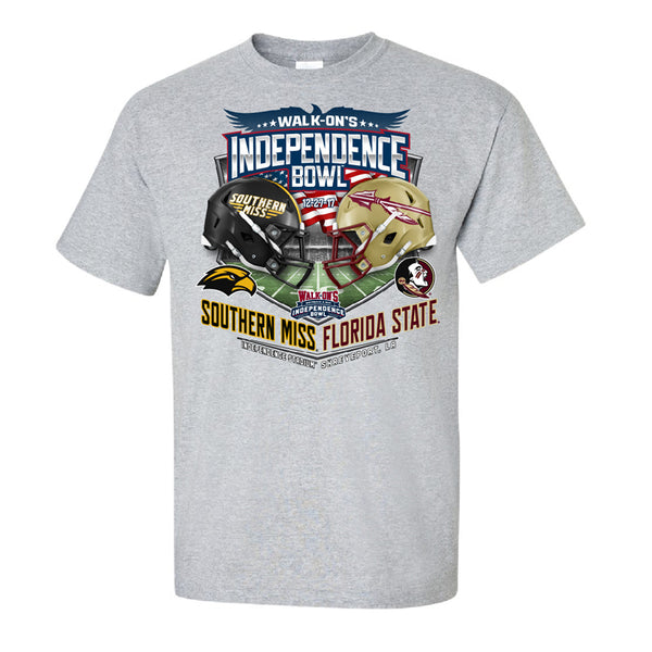 2017 Independence Bowl Team-vs-Team Youth Cotton Short Sleeve Tee