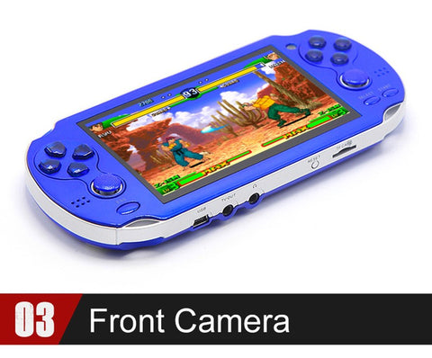 8GB Handheld Console 4.3 Inch Portable Video Game