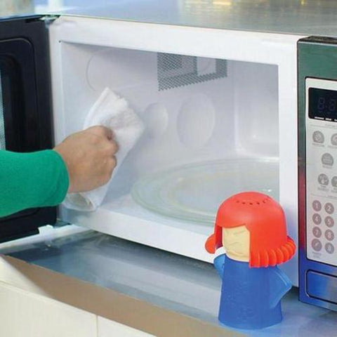 Angry Mama Microwave Cleaner Cooking Kitchen Gadget