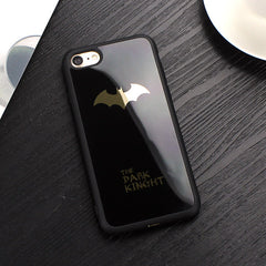 Batman Silicone Soft Phone Case For iPhone