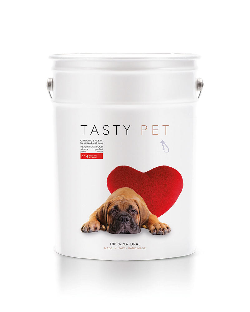 414 | ALIMENTO COMPLETO PER CANI DI TAGLIA MINI E PICCOLA - FOR YOU MY LOVE - tasty.pet