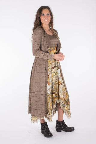 Nessi cardigan with Vera dress DesignWerket