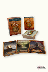 Kort The Enchanted Map Oracle Cards - DesignWerket