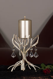 ARJEPLOG candle holder white - DesignWerket