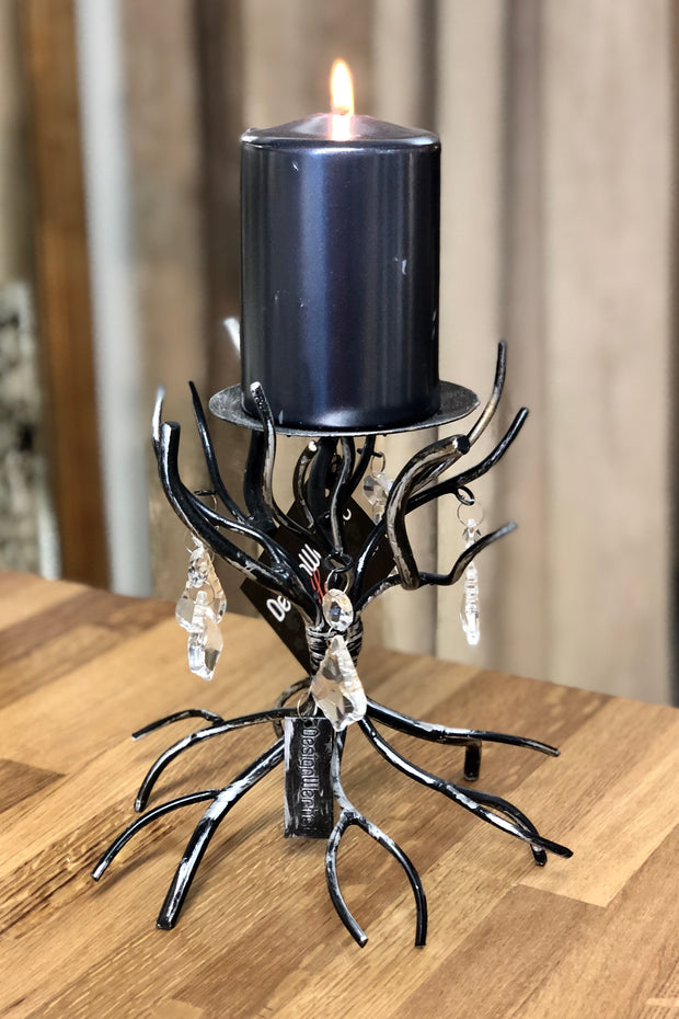 ARJEPLOG candle holder black