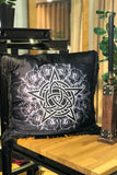 SATIN PENTAGRAM pillowcase