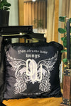 SATIN WINGS pillowcase