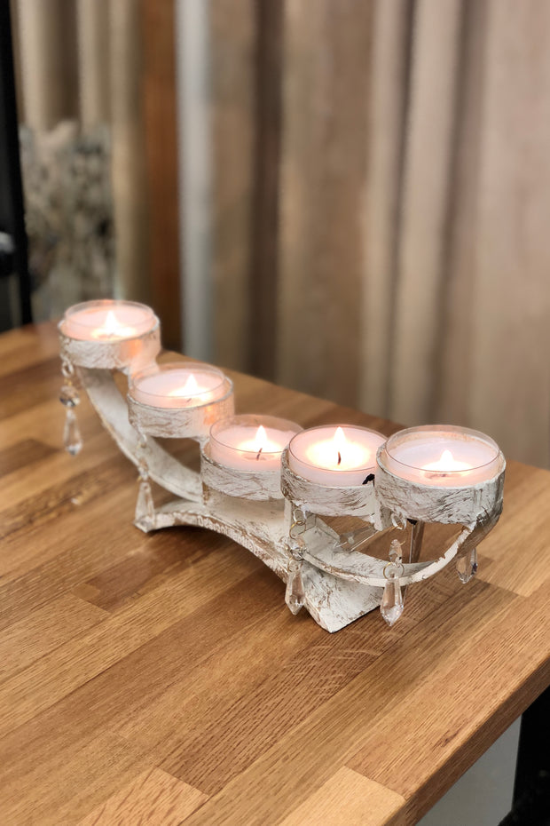ARVIDSJAUR candle holder white - DesignWerket