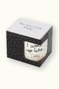 "Mugg Kaffemugg ""I woke up like this"" - DesignWerket"