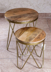 Accessories - Nest Of 2 Stools