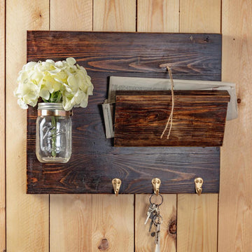 Decoration Items - Key Hanger With Mail Holder