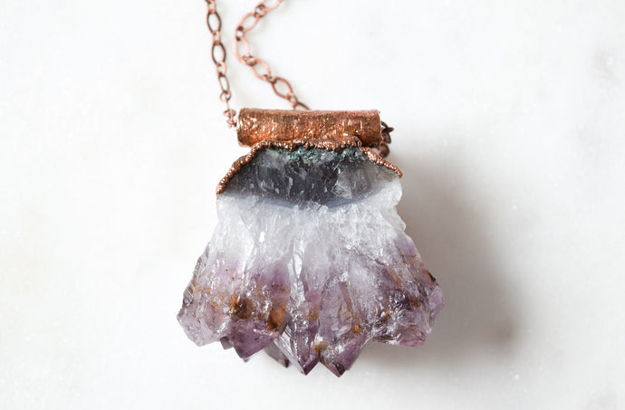 Mama Amethyst Necklace