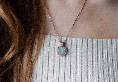 Ocean Foam Necklace