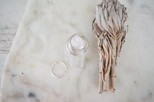 Think Silver Stacking Rings