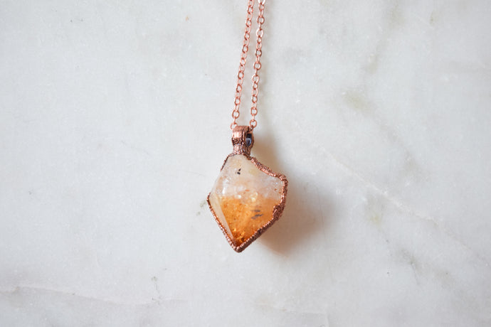 Raw Citrine Point