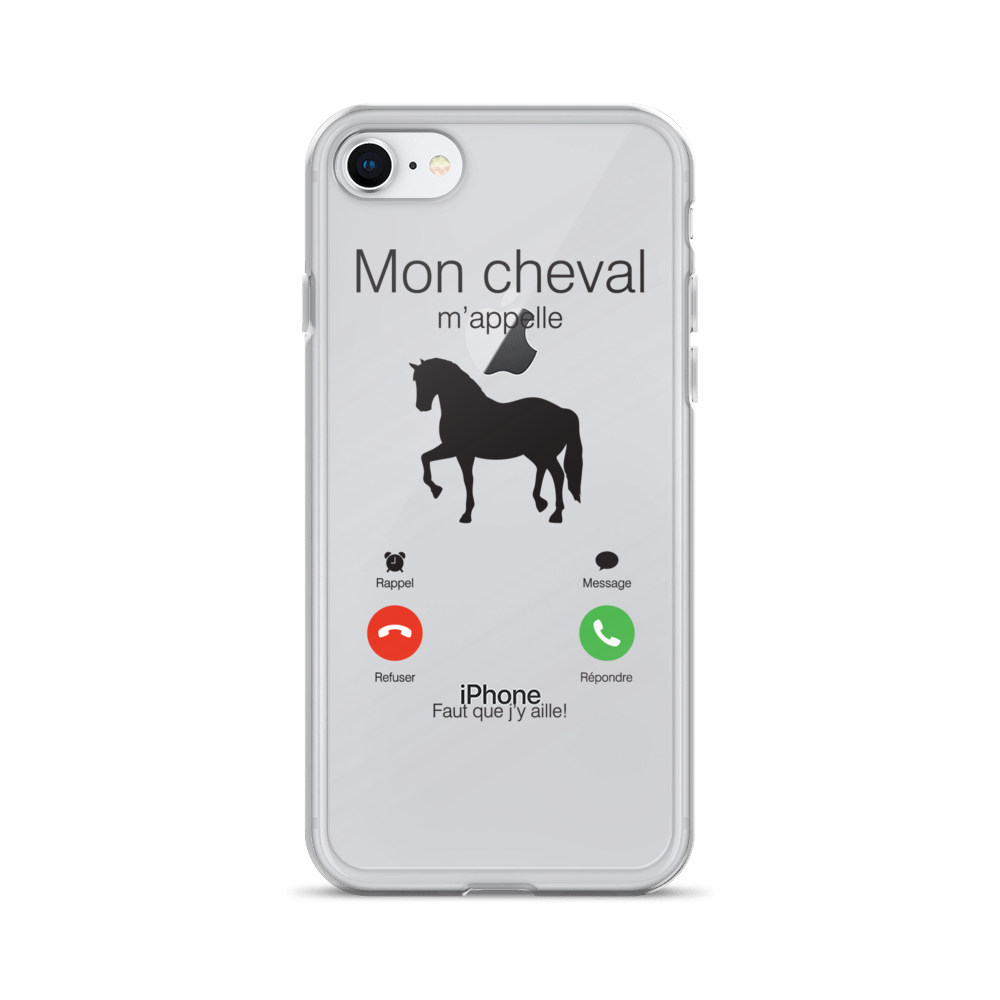 coque iphone 8 cheval