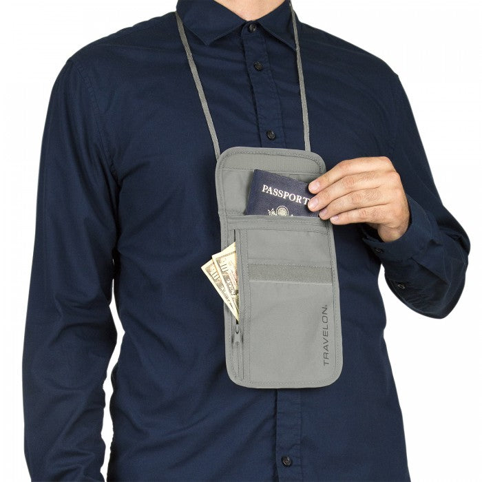 Travelon - RFID Blocking Undergarment Neck Pouch