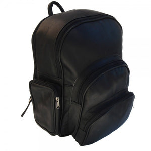 Piel - Expandable Leather Backpack
