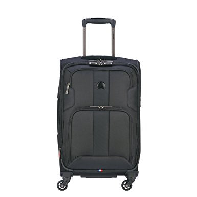 Delsey - Sky Max Expandable 4-Wheel Spinner Carry On Luggage