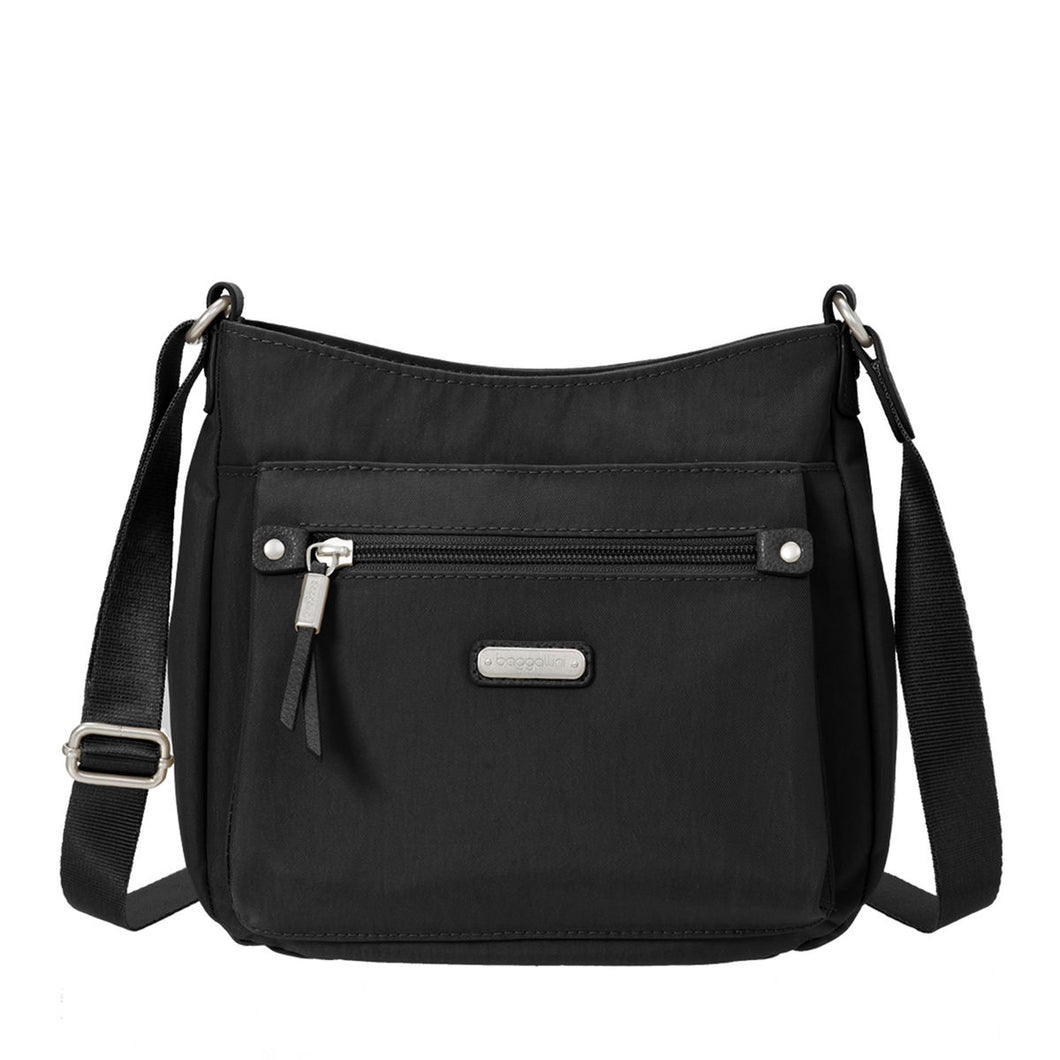 Baggallini - Uptown Bagg Crossbody with RFID Phone Wristlet
