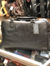 Alexander Bret - Genuine Leather Weekender Bag