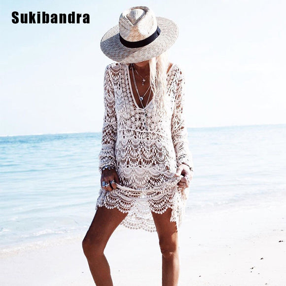 Sukibandra Crochet Summer Women Dress